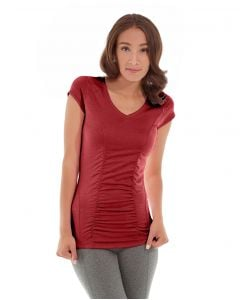 Iris Workout Top-M-Red