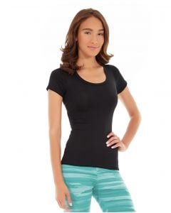 Desiree Fitness Tee-S-Black