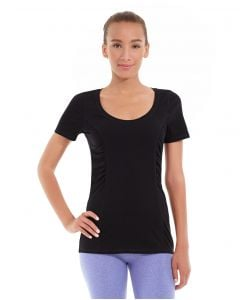 Juliana Short-Sleeve Tee-L-Black