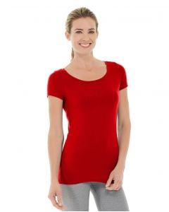 Tiffany Fitness Tee-M-Red